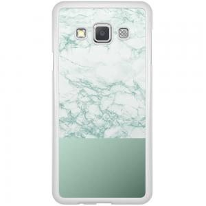 Samsung Galaxy A3 Hoesje - Minty Marble