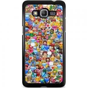 Samsung Galaxy Grand Prime Hoesje - Emoji Collectie
