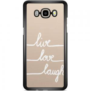 Samsung Galaxy J5 2016 Hoesje - Live Love Laugh