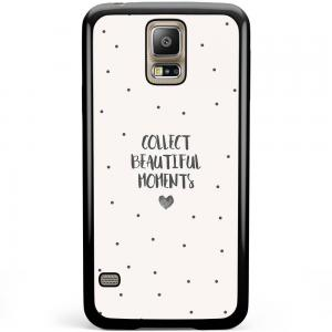 Samsung Galaxy S5 Plus / Neo Hoesje - Collect Beautiful Moments