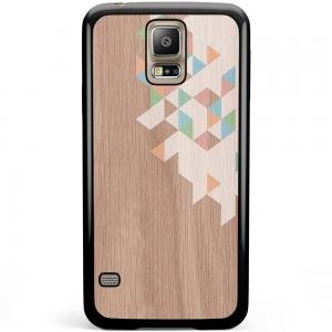Samsung Galaxy S5 Plus / Neo Hoesje - Rose Gold Snake