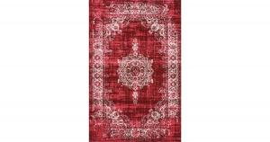 Cool Vintage Vloerkleed - 200x290cm Dark Red