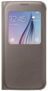 Samsung Galaxy S6 S-View Cover - Goud