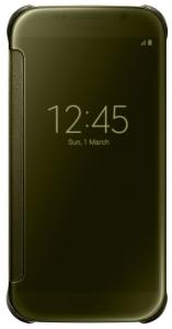 Samsung Clear View Cover Mobiele-telefoonhoes Goud
