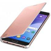 Samsung A5 2016 Clear View Cover Pink