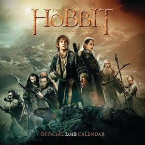 Kalender The Hobbit 2018: 30x30 Cm