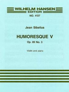 Humoresque V Op.89 No.3