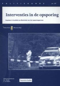 Interventies In De Opsporing
