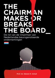 The Chairman Makes Or Breaks The Board